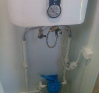 Выполнили водоснабжение под ключ