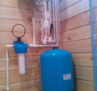 Выполнили систему водоснабжения под ключ