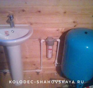 Выполнили водоснабжение из колодца в Шаховском районе